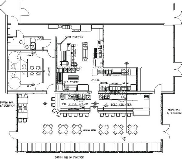 Restaurant Kitchen Layout Autocad: Best Layout Room